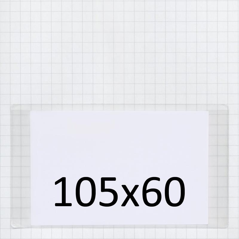 Visitenkartentaschen 105 X 60 Mm Breitseite Offen Brenner